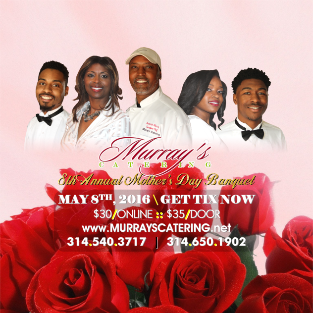 Murrays Catering 8th Mother Day Banquet - FACEBOOK